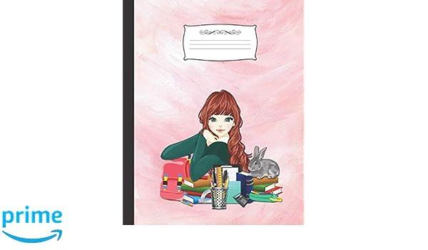 CUADERNO ESCOLAR: Precioso cuaderno de hoja cuadriculada | Tamaño ...