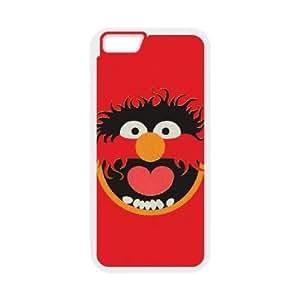 The Muppets Animal 004 funda iPhone 6 Plus 5.5 Inch Cubierta blanca del teléfono celular de la cubierta del caso funda EVAXLKNBC14178
