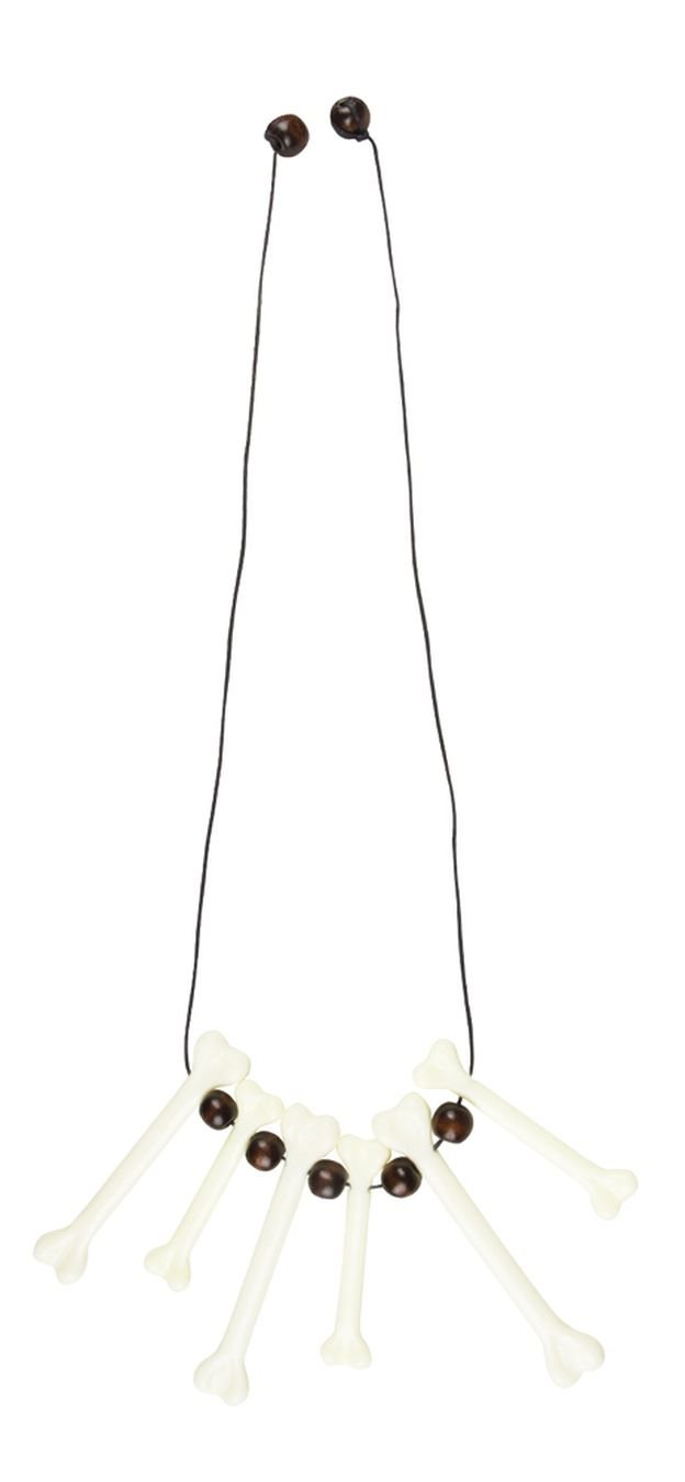 BOLAND BV Boland 64478Necklace Bone Fancy Dress One Size