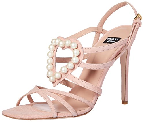 Boutique Moschino Damen 6310 8006 None Sandalen Rosa (rosa)