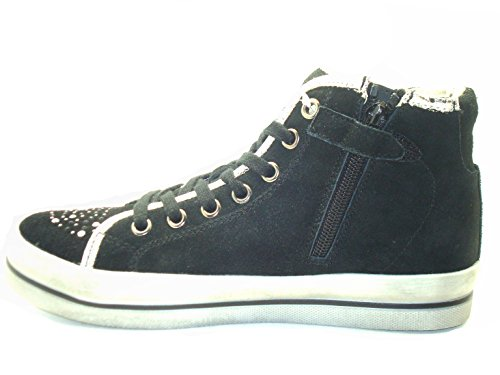 Gymnastikschuhe Tape Nero Damen Po0636 Junior Sneakers Grünland YqEvwn
