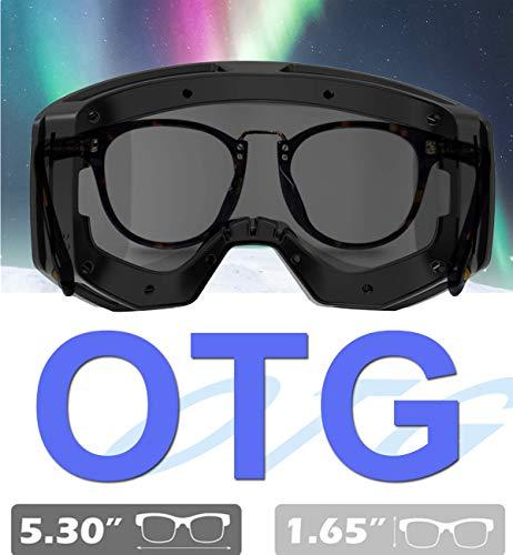 Ski Goggles Snowboard for Men Women, OTG Anti Fog UV Protection Snow Goggles