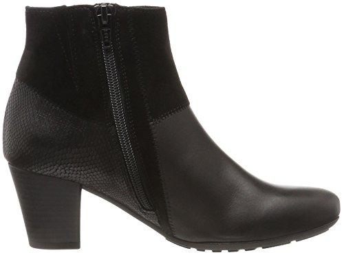 Women's Comfort Basic 585 Black Boots Micro Black Gabor 8fq6d8
