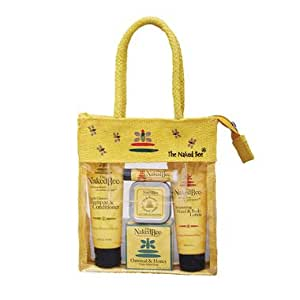 The Naked Bee Travel Kit, Orange Blossom Honey
