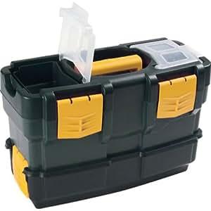 Art Plast 6300V De plástico, Polipropileno Negro, Amarillo caja de herramientas - cajas de herramientas (De plástico, Negro, Amarillo)