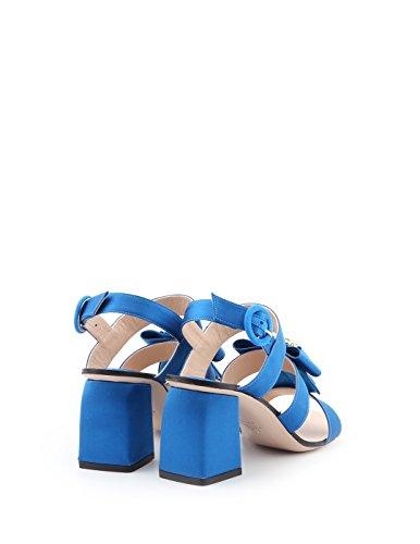 Bleu Donnalightblue Claire Weitzman Cuir Femme Sandales Stuart xv7pAp