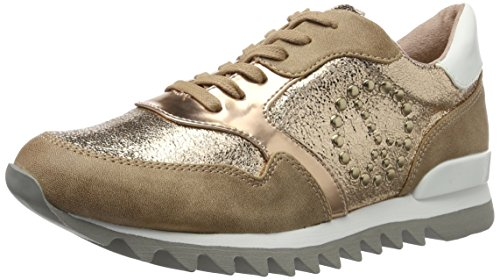 STR Sneakers 23614 Gold Tamaris Comb Basses 942 Rotgold Femme xvY5dqO5