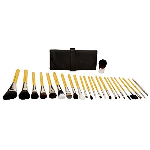 Bdellium Tools Professional Makeup Studio Line Luxury 24pc. Brush Set with Roll-Up...