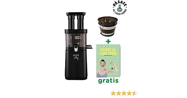 JUISS UP! Extractor de zumos verdes Coldpress 4a Generación (30rpm) + Filtro de Helados y Libro de recetas GRATIS: Amazon.es: Hogar