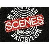 B'z 30TH YEAR EXHIBITION 1988-2018 SCENES ガチャガチャ リストバンド ブラック 黒 稲葉浩志 Tak Matsumoto