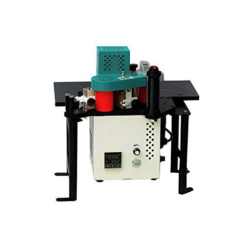 YUCHENGTECH Edge Bander Banding Machine Woodworking PVC Portable Edge Bander Curve Straight Edge Banding Machine With Speed Control 0.5~5m/min(110V)