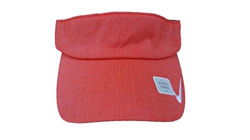 Nike Summer Visor - Nike Seasonal 2.0 Adjustable Women's Golf Visor (8 B(M) US, Light Crimson/White)