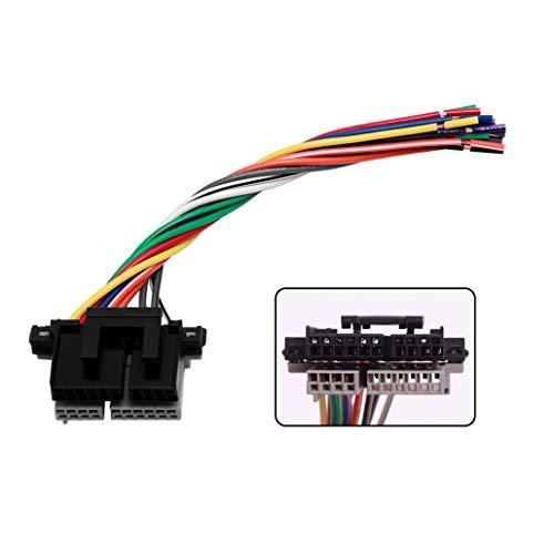 Radio Wiring Harness Radio Power/Speaker GWH-343 4070 Compatible with Chevrolet GMC 1988-2005