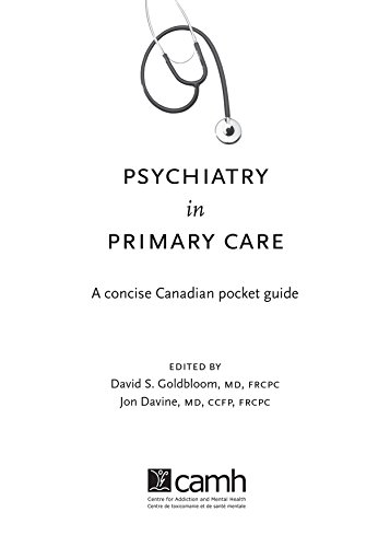 Psychiatry in Primary Care: A Concise Canadian Pocket Guide Pdf