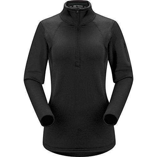 Arc'teryx Women's Rho AR Zip Neck, Black, XL