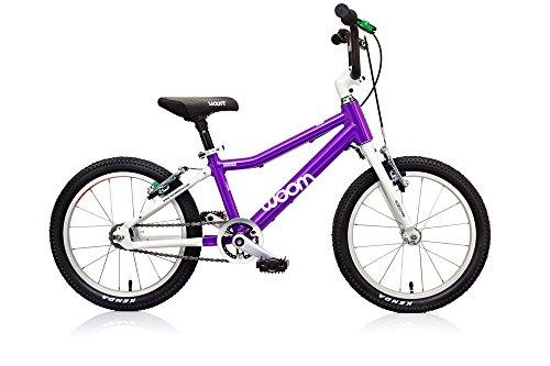 Where to Shop WOOM BIKES USA 5-7 Years WOOM 3 Bike, 16″/One Size, Purple