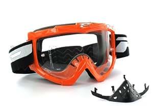 Progrip Basicline Gafas de Motorista, Naranja, Talla Única