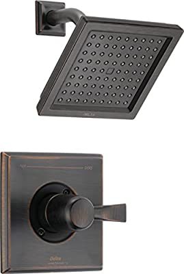 Delta Faucet Dryden 17 Series Dual-Function Shower Trim Kit with Single-Spray Touch-Clean Shower Head
