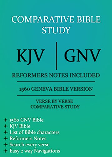 a comparative bible study Comparative religion student resources | online resources for the study of religion resources for academic study in hebrew bible.