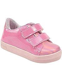 Tênis Casual Infantil Menina com Glitter Escola Conforto