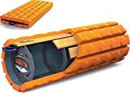Brazyn Morph Bravo Foam Roller - for Home, Gym, Office, Travel, Athletes - Collapsible & Lightweight Rolle