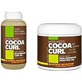Beautiful Nutrition Cocoa Curl Combo -Rejuvenating Curl Oil + High Definition Moisture Gel