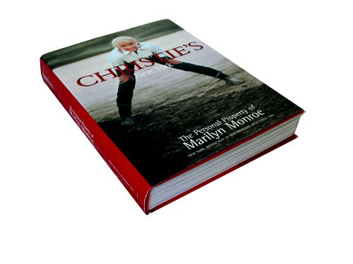 CHRISTIE'S AUCTION CATALOG, TITLED: The Personal Property of Marilyn Monroe Auction Catalog