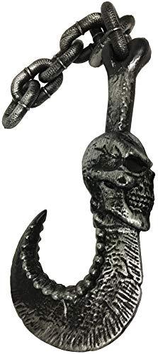 Forum Novelties Halloween Party Creepy Scary Costume Jumbo Hook And Chain ()