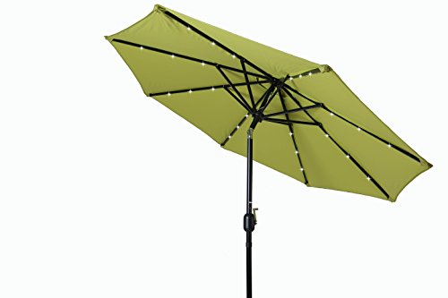 Trademark Innovations Powered Lighted Umbrella