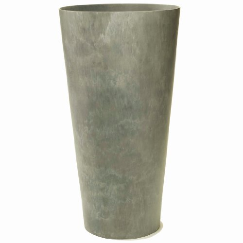 Artstone Napa Tall Planter, Gray, 10.5-Inch (Tall Indoor Boxes Planter)