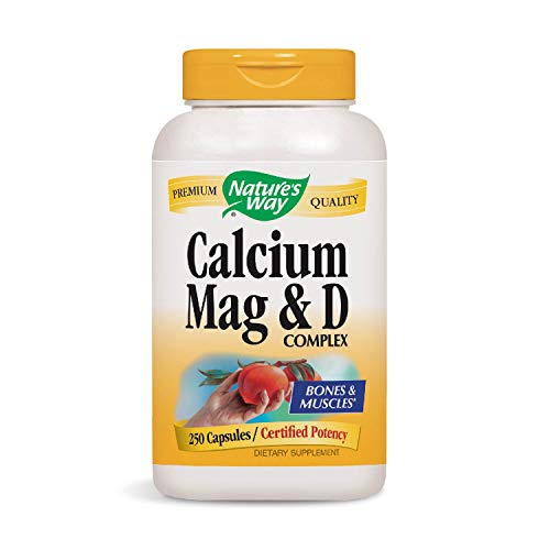 (Nature's Way Calcium-Magnesium-Vitamin D (Packaging May Vary))