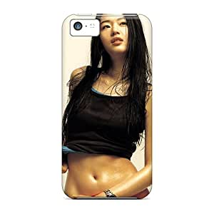 Tpu Case Cover For Iphone 5c Strong Protect Case - Jun Ji Hyun South Korean Actress Design