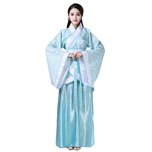 Ez-sofei Women's/Girls Ancient Chinese Traditional Costumes Hanfu (L, (Chinese Woman Costume)