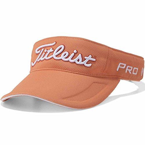 TITLEIST(タイトリスト) タキノウツアーバイザー HJ8VAR メンズ HJ8VAR-OR オレンジ サイズ:フリー(57-59cm)