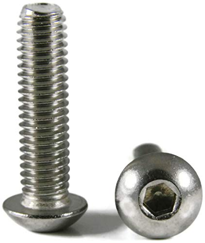 - Button Head Socket Cap Screw Stainless Steel Screws UNC 6-32 x 3/16 Packedge Quantity 2500 - Quality Assurance from JumpingBolt