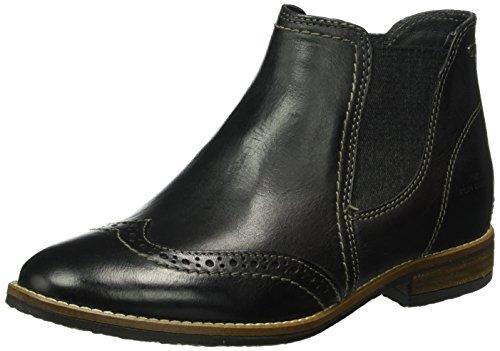 Tom Tailor 1692201, Zapatillas de Estar por Casa para Mujer Negro - negro