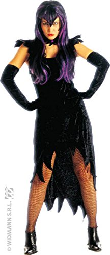 Ladies Dark Mistress Costume Large Uk 14-16 For Halloween Fancy Dress - Mistress Of The Dark Costume Uk