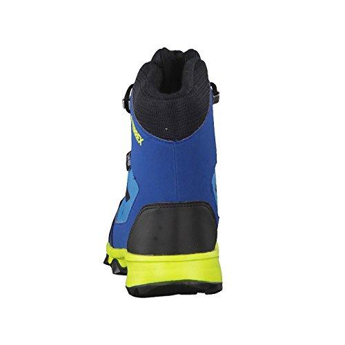 adidas Unisex-Kinder Terrex Snow CP CW K Trekking-& Wanderstiefel, Blau verschiedene Farben (Petmis/Negbas/Azunoc)