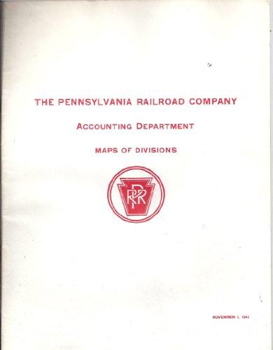 The Pennsylvania Railroad Company, Accounting Department, Maps of Divisions (November 1, ()