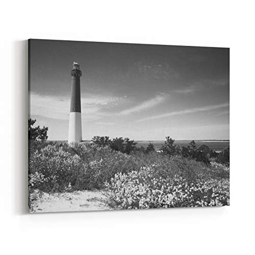 Rosenberry Rooms Canvas Wall Art Prints - Path to Lighthouse (20 x 16 inches) -