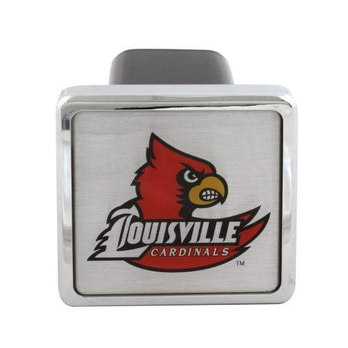 Bully Louisville College Hitch Cover (CR984) (Certified - Hitch College Covers Helmet