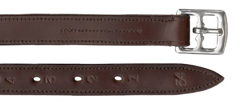 Nylon Lined Stirrup Leathers - Camelot Lined Stirrup Leathers 7/8In Oakbark