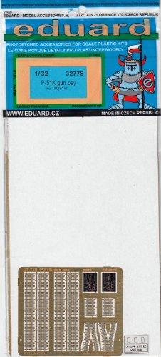 EDU32778 1:32 Eduard Color PE - P-51K Mu - Mustang Gun Bay Shopping Results