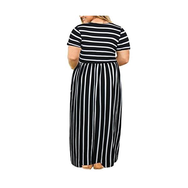 7e1548250f40 Home / Short Sleeve / Nemidor Women Short Sleeve Loose Plain Casual Plus  Size Long Maxi Dress with Pockets