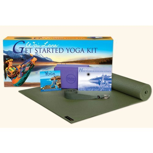 Wai Lana Get Started Yoga Kit - Beginners Yoga Kit by Wai Lana by Wai Lana