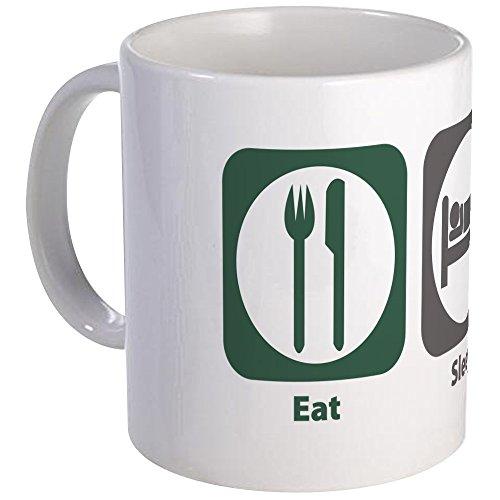 CafePress - Eat Sleep Anesthesiology Mug - Unique Coffee Mug, Coffee Cup