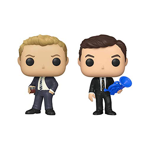 Funko Pop! TV Bundle of 2: How I Met Your Mother - Ted and Barney in Suit