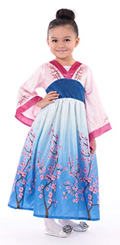 Little Adventures Asian Princess Dress Up Costume (Large Age 5-7)