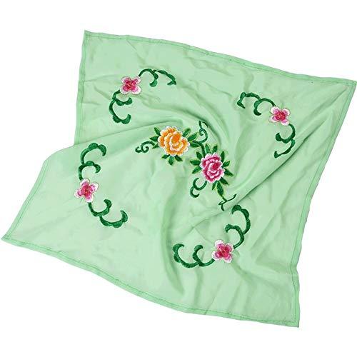 Chinese Embroidery Handkerchiefs (Dance handkerchief Embroidered Handkerchief Cheongsam Accessories [E])