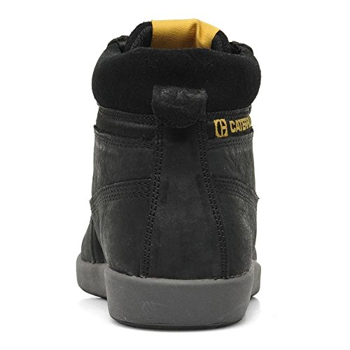 Caterpillar Colorado Plus- Botas de cuero para niños, color Negro (Black), talla 28